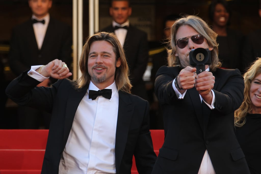 Stars posed at the premiere of Killing Them Softly.