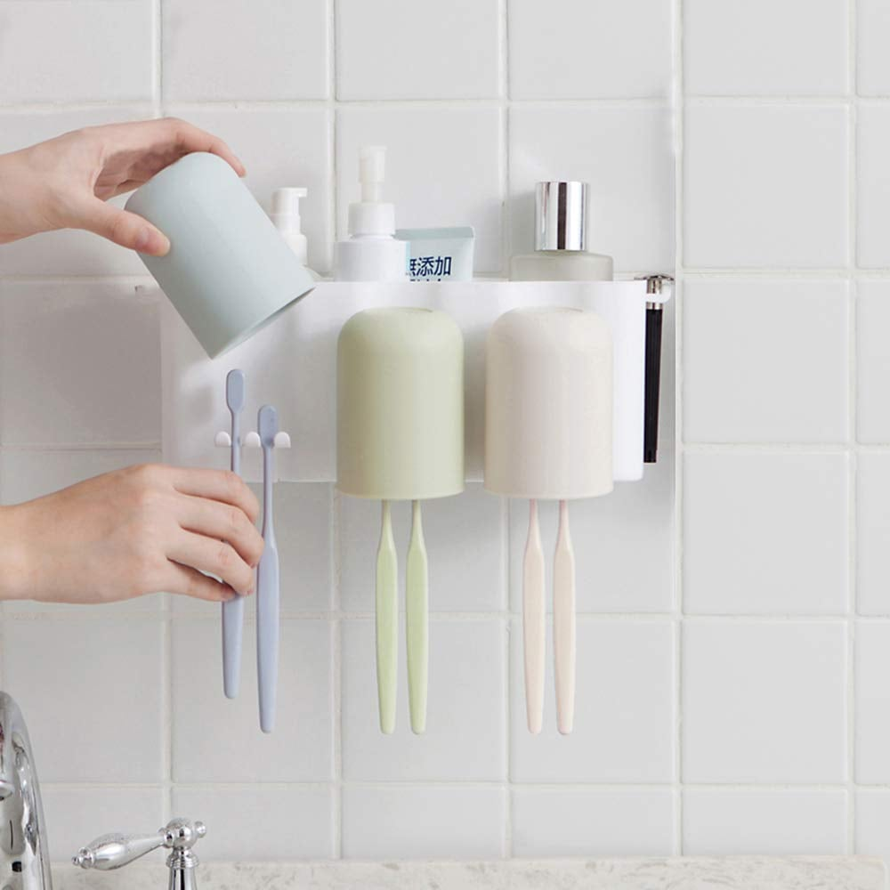 Leaflai Toothbrush Holders Wall Mounted Holder 50 Helpful Products Your Life Has Been Missing All This Time All Under 50 Popsugar Smart Living Photo 13
