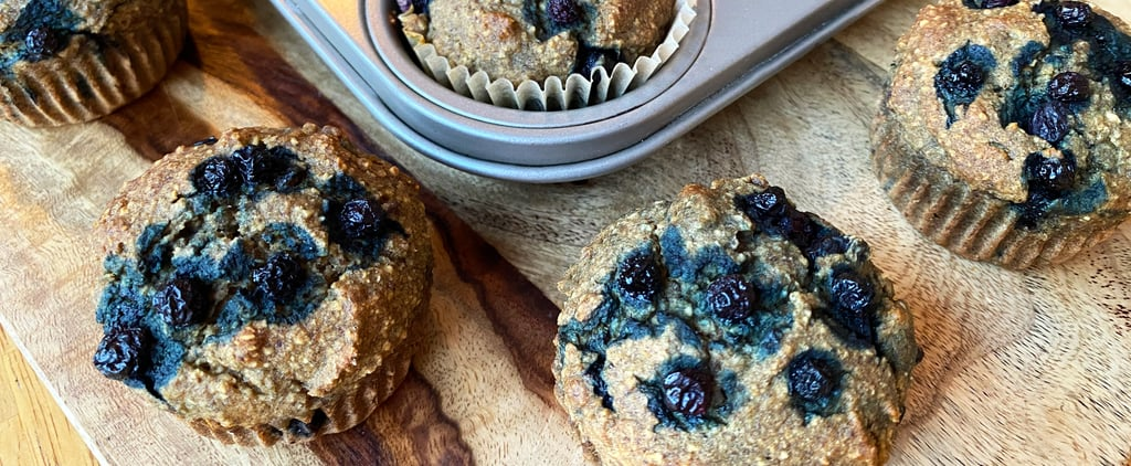 Sugar-Free Vegan Blueberry Muffins