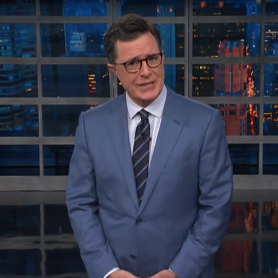 Stephen Colbert on Melania Trump's Green Jacket