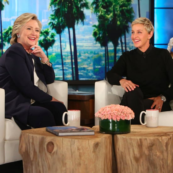 Hillary Clinton on Ellen DeGeneres Show Talking Debates