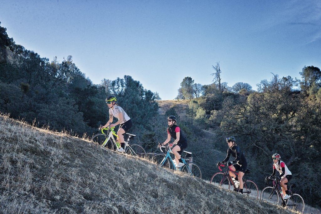tips for biking uphill popsugar fitness