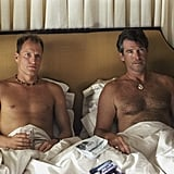 Woody Harrelson and Pierce Brosnan, After the Sunset