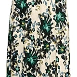 H&M - Long Jersey Dress - Natural white/floral - Ladies