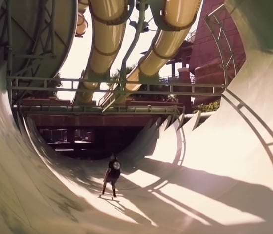 These Guys Took Over an Empty Waterpark and Made a Video That Will Leave Your Palms Sweating