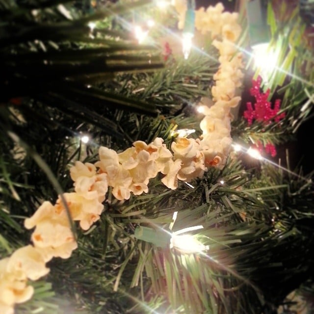 Popcorn Garland How To Throw A Hipster Christmas Party Popsugar