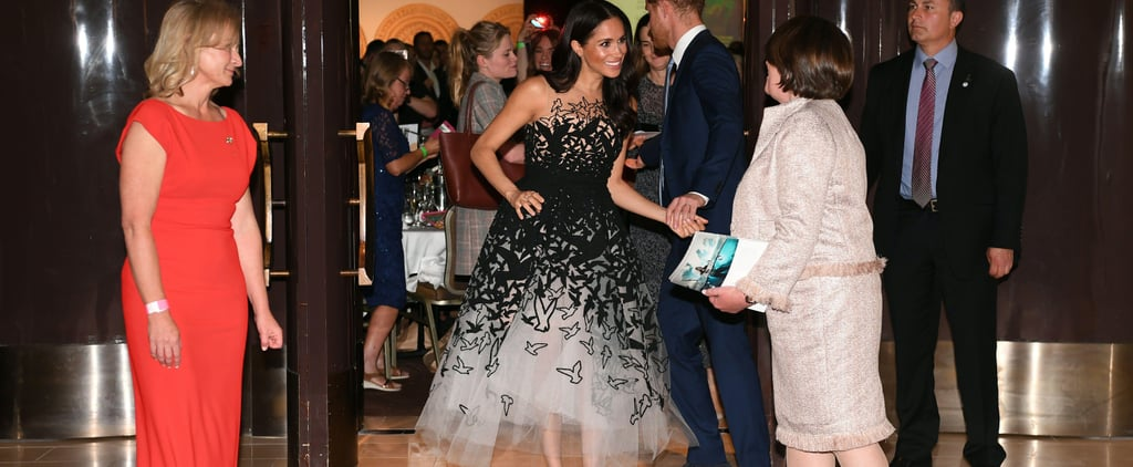 Meghan Markle's Oscar de la Renta Dress October 2018