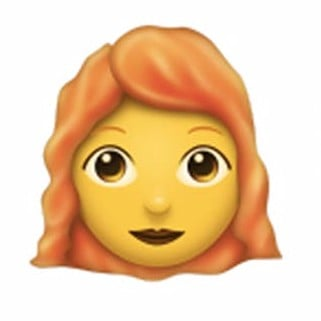 Redhead Emoji Coming in June 2018
