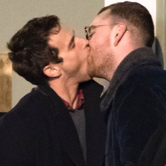 Sam Smith Kissing His Boyfriend Brandon Flynn in London