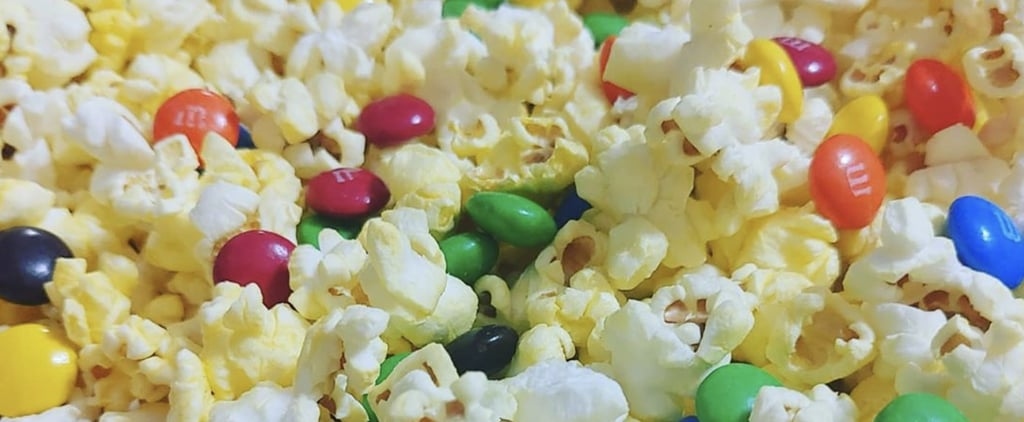 Popcorn Mixed With M&M's Is the Best Movie Snack