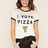 Forever 21 Vote Pizza Ringer Tee ($13)
