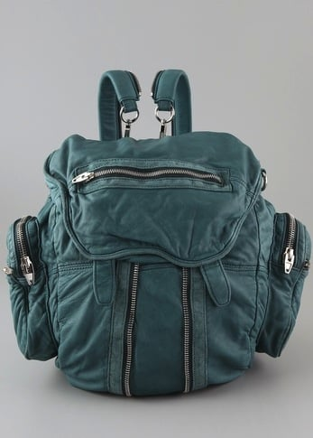 You'll be the coolest girl on campus with this rad backpack.  Alexander Wang Marti Backpack ($850)