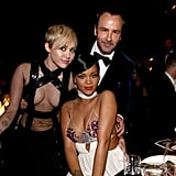 Miley and Rihanna with Tom Ford