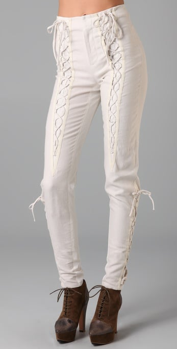 Rodarte for Opening Ceremony Lace-Up Pants ($805)