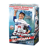 2016 MLB Topps Baseball Trading Cards Chrome Full Box