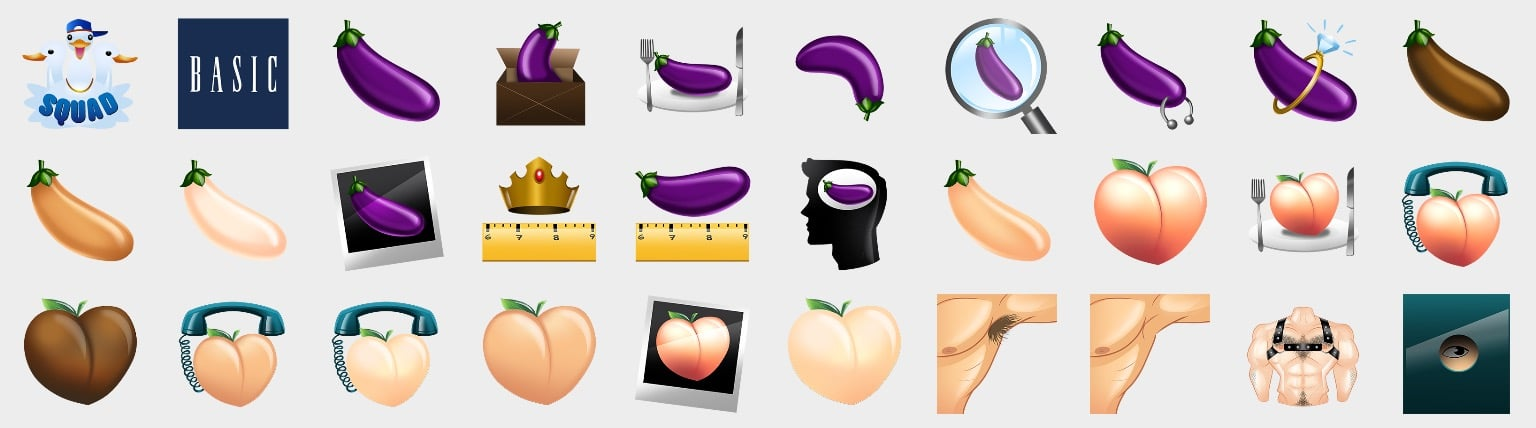 Meanings grindr gaymoji What does