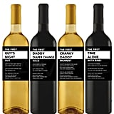 New Dad Gift Wine Labels