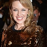 Kylie Minogue sparkled at the Holy Motors premiere.