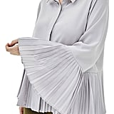 Elvi The Luli Pleated Bell Sleeve Shirt