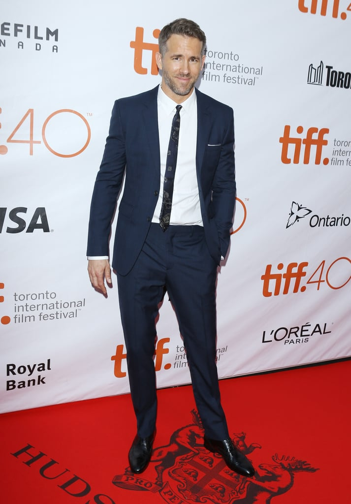 Ryan Reynolds At The Toronto Film Festival 2015 Popsugar