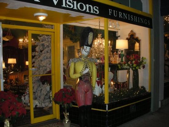 I Spy: Antique Shop Holiday Window Display