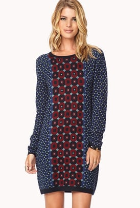 A sweater dress ($30) so cool you could wear it to work.