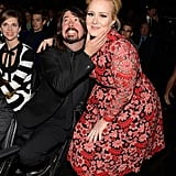 With Dave Grohl.
