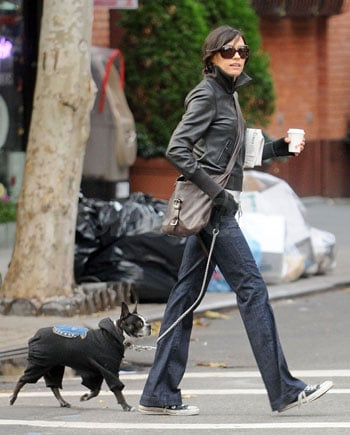 Famke and Licorice Brave the Cold (NY)City Streets