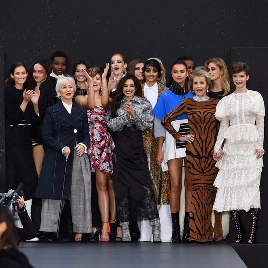 Jane Fonda and Helen Mirren Walk Paris Fashion Week