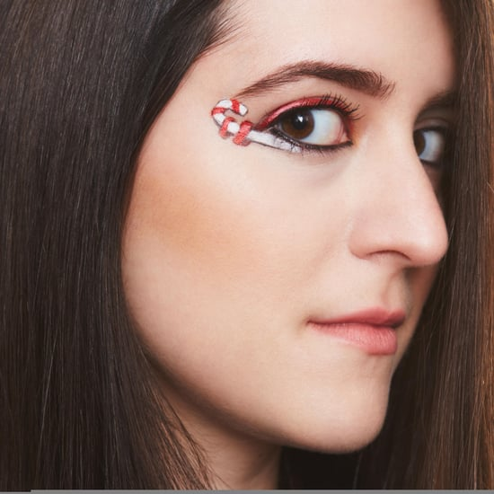 Eyeliner Inspired by Candy Canes
