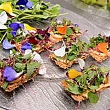 Garnish With Edible Flowers
