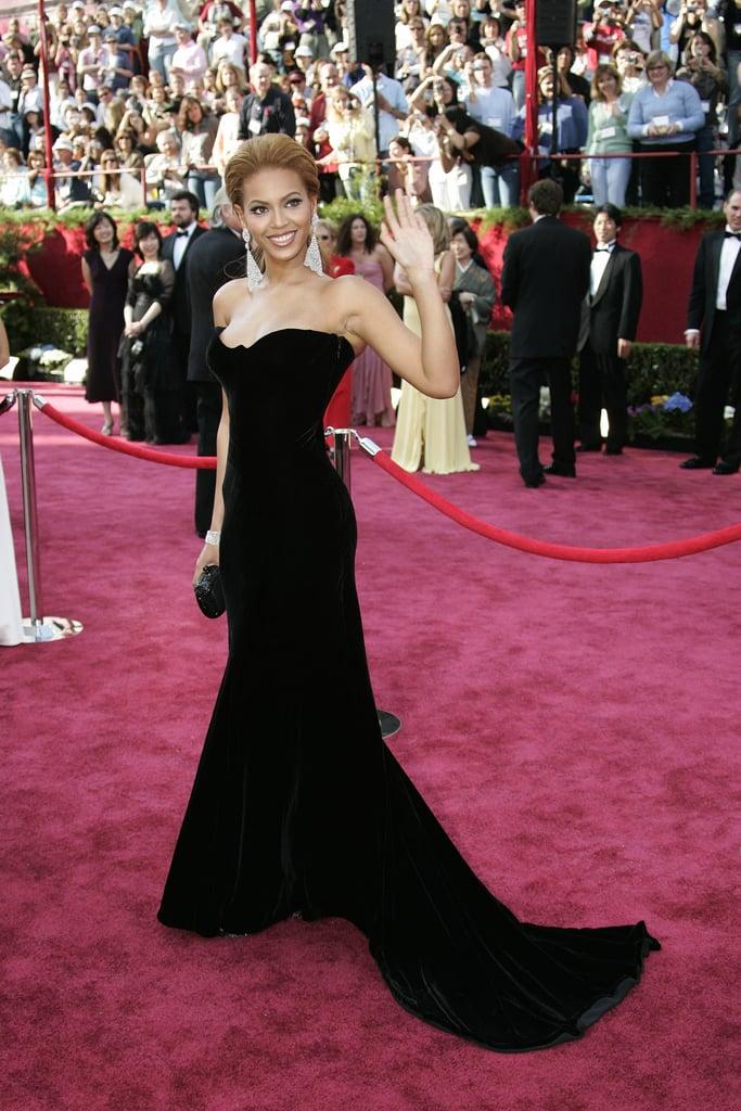 Beyoncé at the 2005 Academy Awards