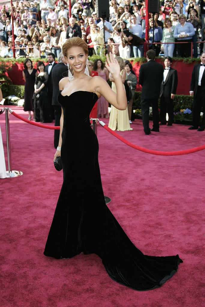 Beyoncé at the 2005 Academy Awards