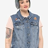 Her Universe Disney Pixar Toy Story Woody Denim Girls Vest Plus Size