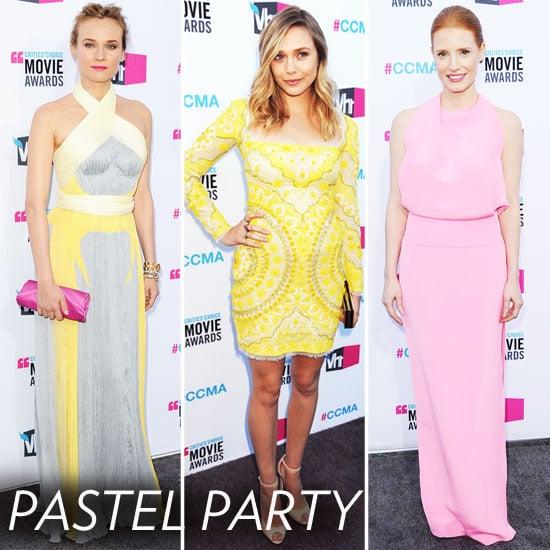 Critics' Choice Awards Trendspotting: Pastel Pop
