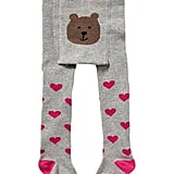 The cutest way to keep little legs warm and toasty? Baby Gap's knit heart tights ($13).