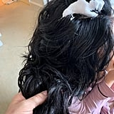 Lana Condor's Hair Prep for the Met Gala