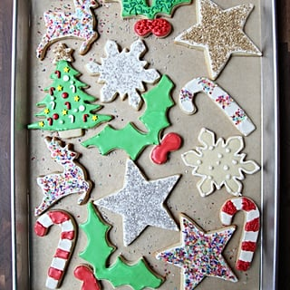Easy Iced Sugar Cookie Recipe