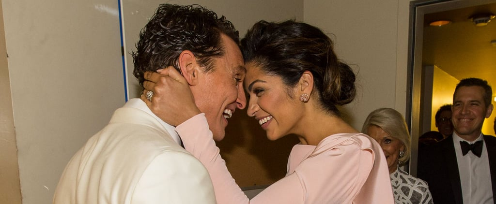 Try Not to Melt While Watching Matthew McConaughey Describe the Night He Fell in Love With Camila Alves