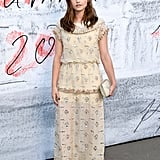 When she attended the Serpentine Gallery Summer Party, she stunned in an embellished gown.
