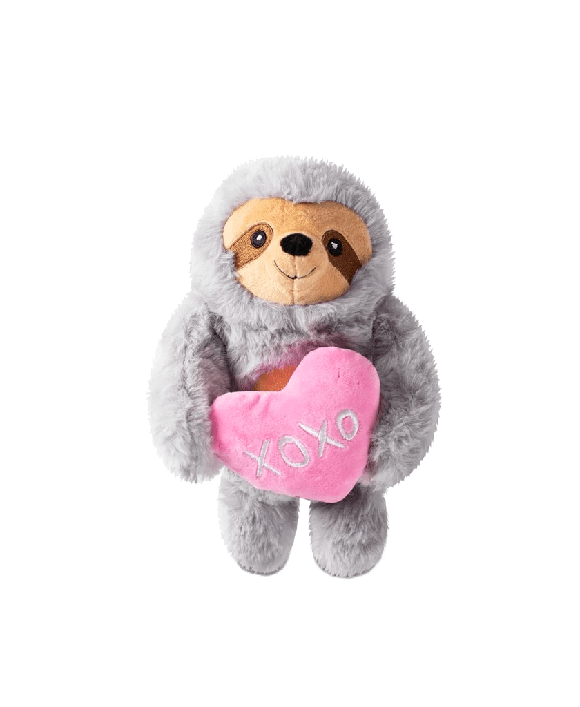 Fringe Hugs & Kisses Plush Dog Toy