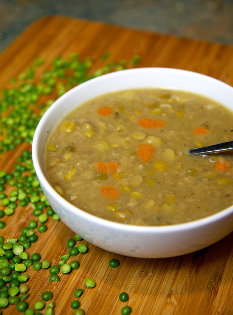 Vegan Split Pea and Sweet Potato Soup