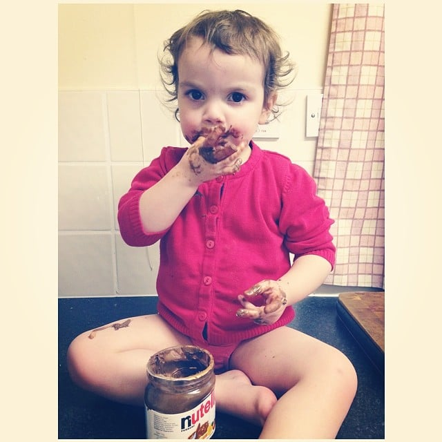 When You Let Your Baby Discover Nutella