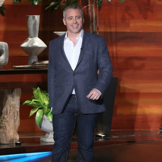 Matt LeBlanc on The Ellen DeGeneres Show January 2017