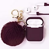 Filoto Silicone Case With Fur Ball Keychain