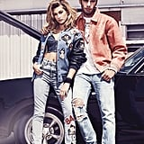 Hailey Baldwin Guess 35th Anniversary Campaign