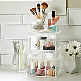 Luxe Acrylic Tall Makeup Storage Kit