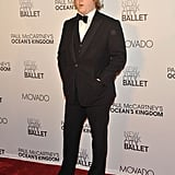 James McCartney at the NYC ballet.