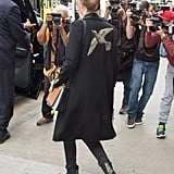 Dakota's Gucci Embroidered Coat