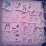 We died and went to shoe heaven after seeing Wittner's head designer's fantastical sketches. Pinspiration!